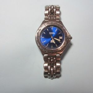 Men/Women's Blue Face Fossil Watch